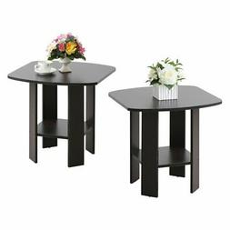 Furinno Simple Design Chair Side Table - Set of 2