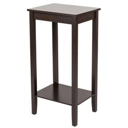 Simple Design Multipurpose Tall Side Table Wooden Night Stan