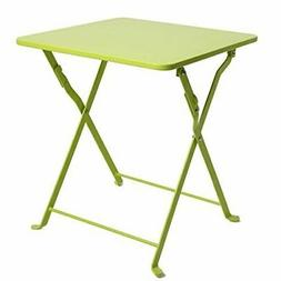 Finnhomy Small Square Folding Side End Table Sofa Table Tray