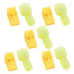Uxcell T-Tap Male Insulated Wire Terminal Quick Connectors C