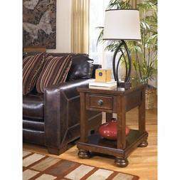 Ashley T697-3 Signature Design Porter Chair Side End Table,