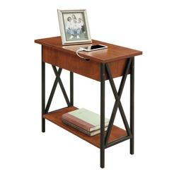 Convenience Concepts Tucson Electric Flip Top Table