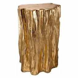 Benzara Well Designed Nature Inspired Tree Trunk Garden Stoo
