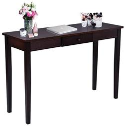 Giantex Wood Console Table for Entryway Hallway Modern Hall