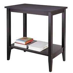 HOMFA Wood End Table Sofa Couch Side Coffee Table Nightstand