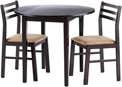 Wooden Breakfast Table and Chairs - Set of 3
