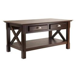 Winsome Wood Xola Coffee Table with 2 Drawers WIN-40538